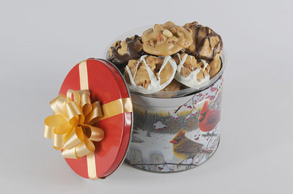 Assorted Brittle Praline Gift Tin
